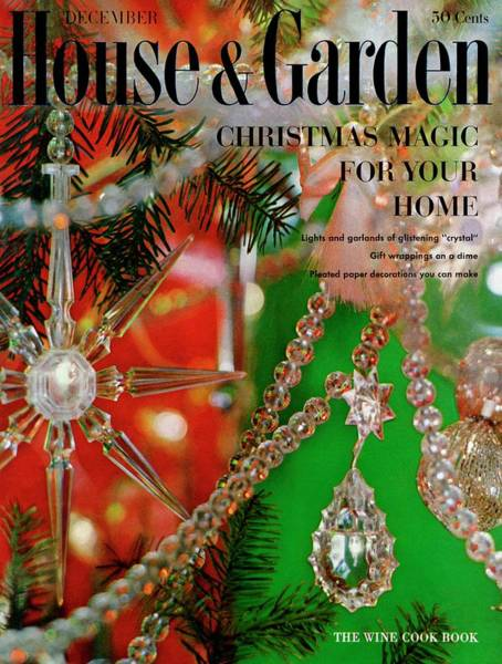Christmas Tree Photograph - House And Garden Christmas Issue Cover by Karlson