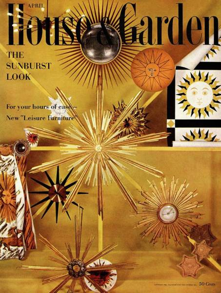 April 20th Photograph - House And Garden Cover by Herbert Matter
