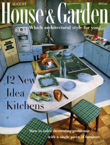 Vegetable Photograph - House And Garden Kitchen Ideas Issue by George De Gennaro