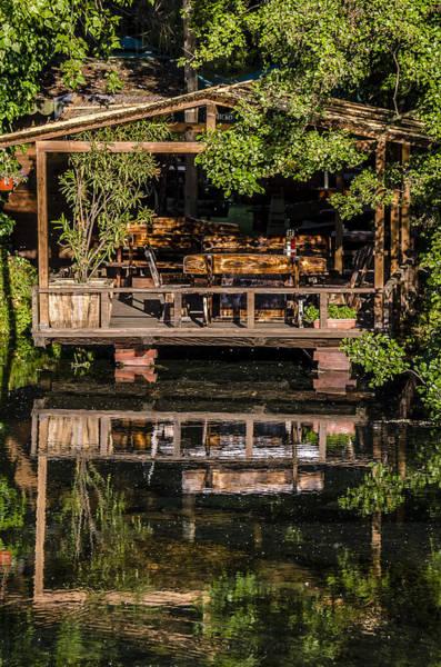 Photograph - House By The Lake  by Sotiris Filippou