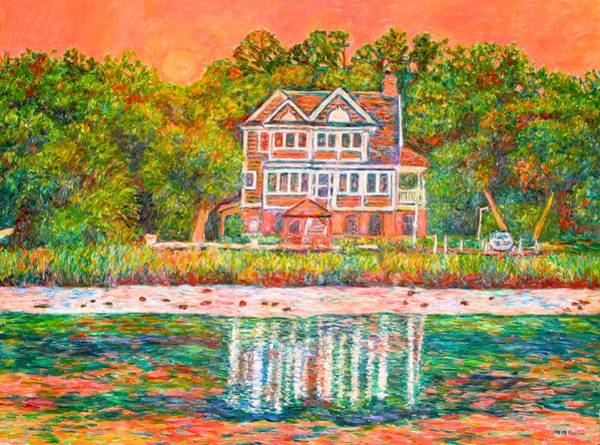 Painting - House By The Tidal Creek At Pawleys Island by Kendall Kessler