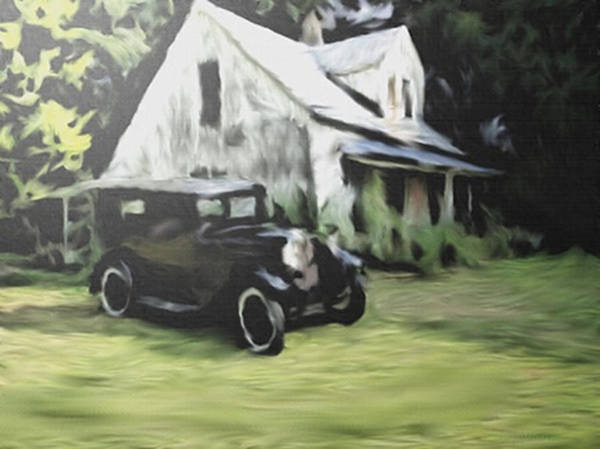 Painting - House Call by Dennis Buckman