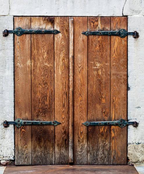 Handle Photograph - House Door by Ewastudio