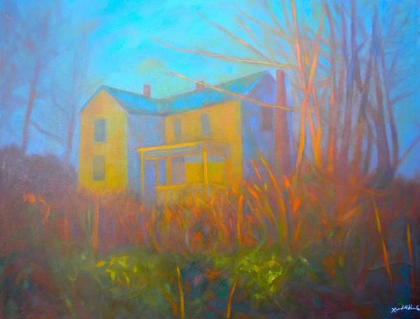 Painting - House In Blacksburg by Kendall Kessler
