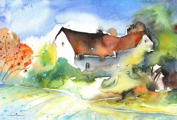 Painting - House In Germany by Miki De Goodaboom