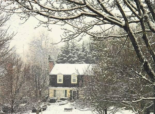 Wall Art - Photograph - House In Snow by Joyce Kimble Smith