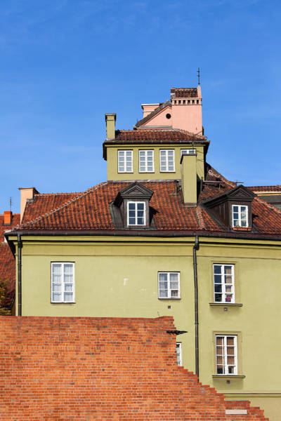 Tenement Photograph - House In The Old Town Of Warsaw by Artur Bogacki