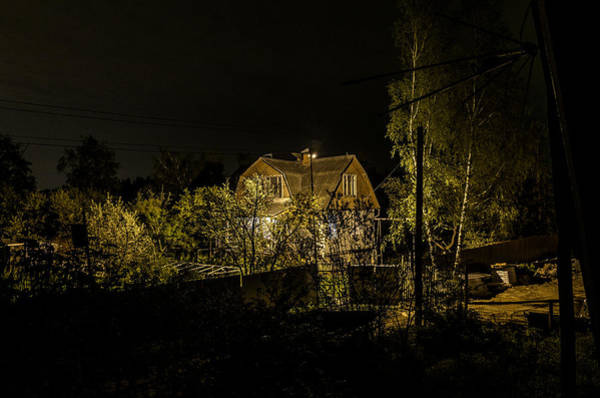 Photograph - House In The Village by Michael Goyberg
