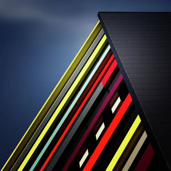 Colour Photograph - House Of Colours by Jeroen Van De