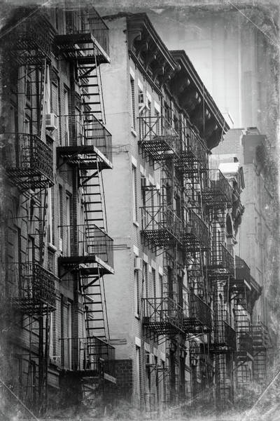 Damaged Photograph - House Of Manhattan, New York City by Zodebala