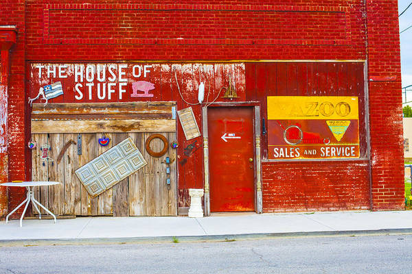 Ardmore Photograph - House Of Stuff by Greg Kopriva