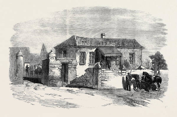 Ukraine Drawing - House Of The Anglo-french Commission by English School