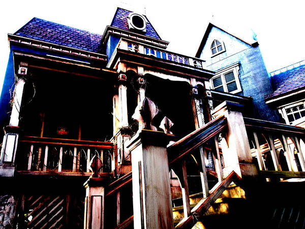 The Undead Photograph - House Of The Devil by James Ryan