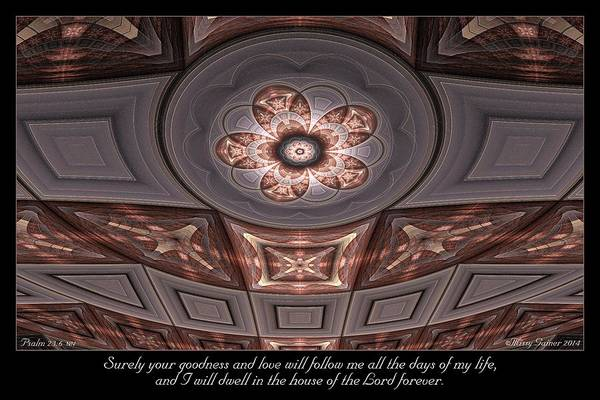Digital Art - House Of The Lord by Missy Gainer