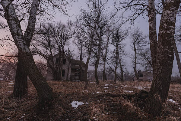 Photograph - House On Haunted Hill by Aaron J Groen