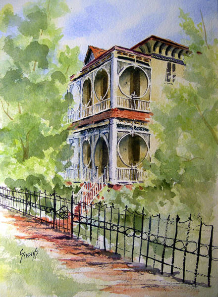 Painting - House On Spring Street by Sam Sidders