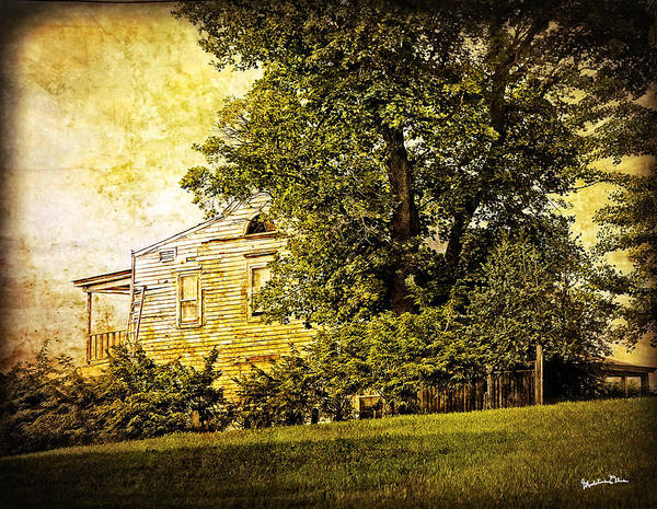 Houses Wall Art - Photograph - House On The Hill 1 by Madeline Ellis