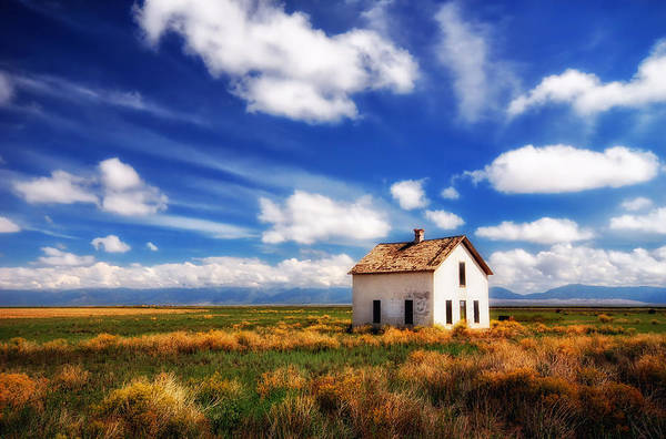 Photograph - House On The Prairie by Ghostwinds Photography