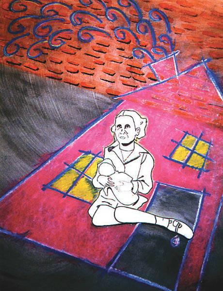 Brick House Mixed Media - House The Homeless by Mike Manzi