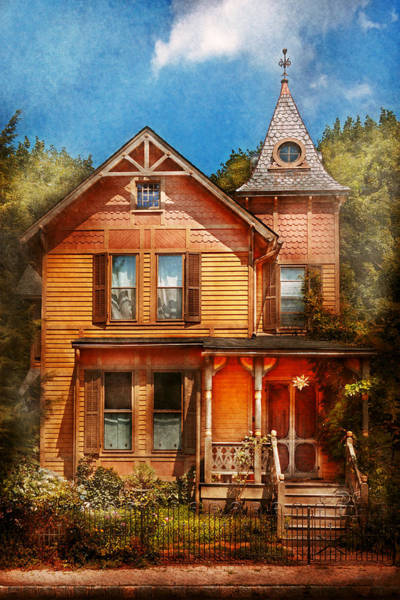 Photograph - House - Victorian - The Wayward Inn by Mike Savad