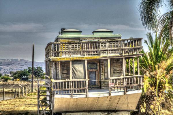 Alviso Photograph - Houseboat 3 by SC Heffner