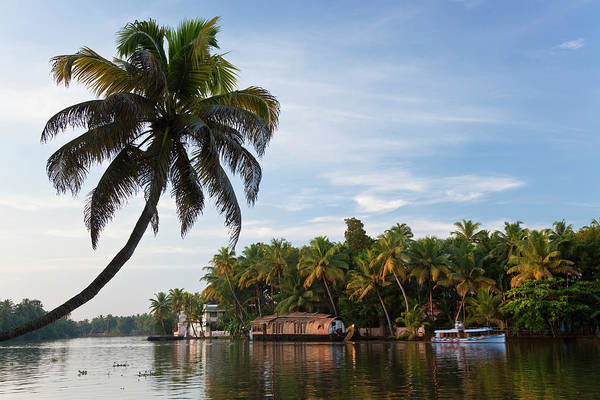 Houseboat Photograph - Houseboat, Backwaters, Alappuzha Or by Peter Adams