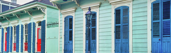 Wall Art - Photograph - Houses Along A Street, French Quarter by Panoramic Images