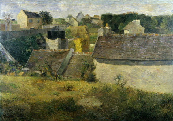 Painting - Houses At Vaugirard, 1880 by Paul Gauguin