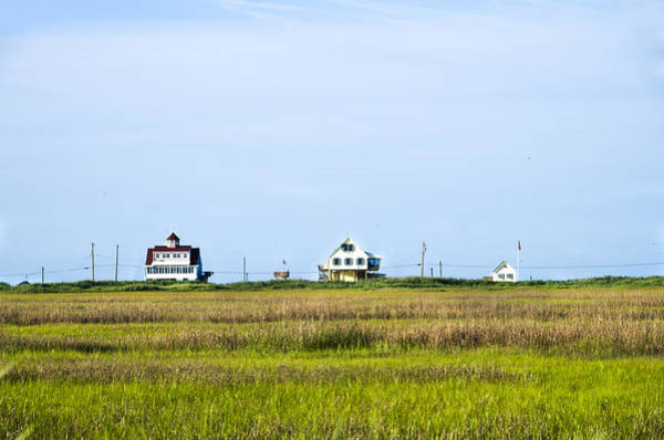 Wall Art - Photograph - Houses By The Delaware Bay - Maurice Twp Nj by Bill Cannon