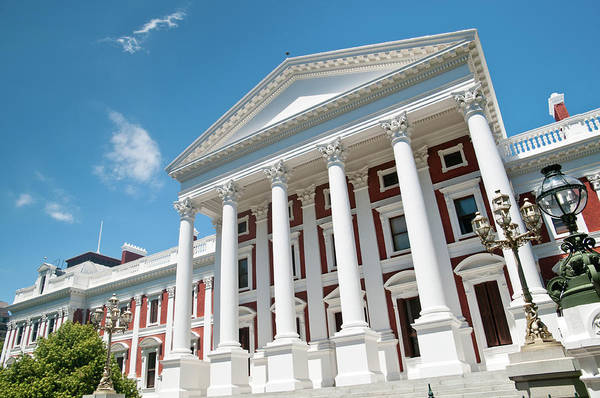 House Photograph - Houses Of Parliament Cape Town by Ferrantraite