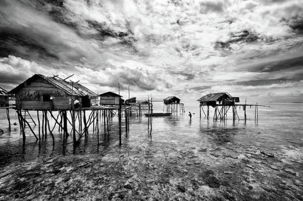 Wall Art - Photograph - Houses  Of  The  Bajau by Andreas Kosasih
