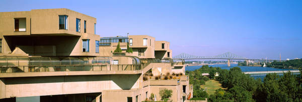 Jacques Photograph - Housing Complex With A Bridge by Panoramic Images