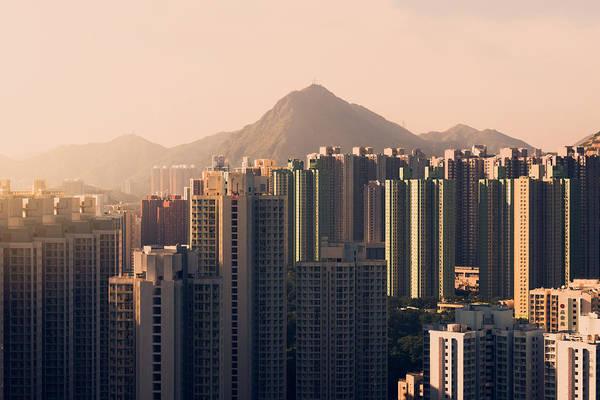Housing Development Photograph - Housing Estates At Afternoon by Simon Li