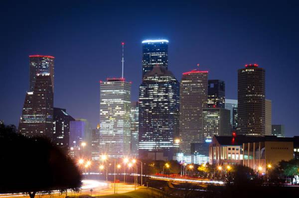 Photograph - Houston Nights by David Morefield