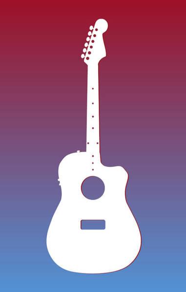 Wall Art - Photograph - Houston Oilers Guitar by Joe Hamilton