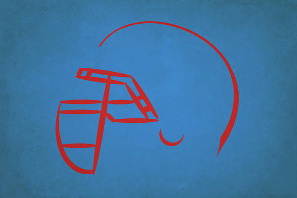 Wall Art - Photograph - Houston Oilers Helmet by Joe Hamilton