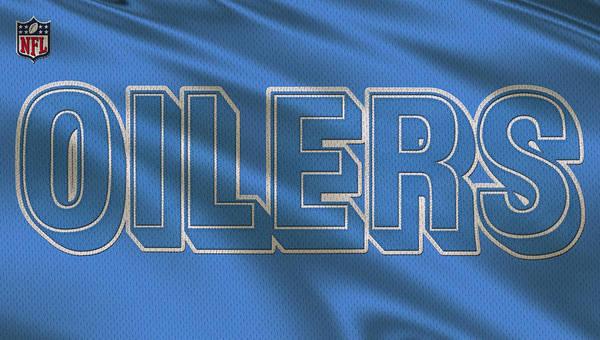 Wall Art - Photograph - Houston Oilers Uniform by Joe Hamilton