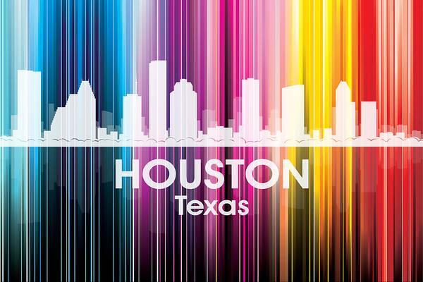 Mixed Media - Houston Tx 2 by Angelina Tamez