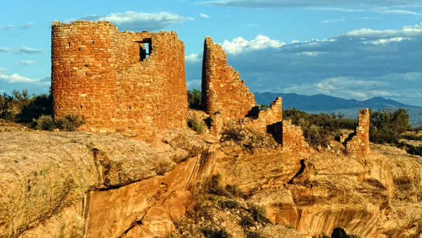 Photograph - Hovenweep Castle Ruins by Ghostwinds Photography