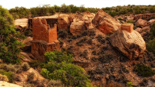 Photograph - Hovenweep Dwelling by Ghostwinds Photography