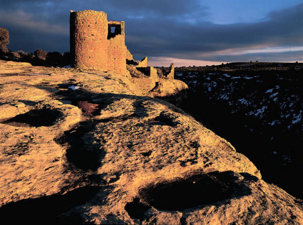 Wall Art - Photograph - Hovenweep Ruins by Kenneth Murray
