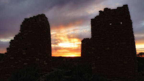 Photograph - Hovenweep Sunset by Ghostwinds Photography