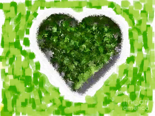 Nonprofit Digital Art - How Do I Live Green by Holley Jacobs
