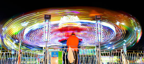 Carnies Photograph - How Do I Stop This Thing by David Lee Thompson