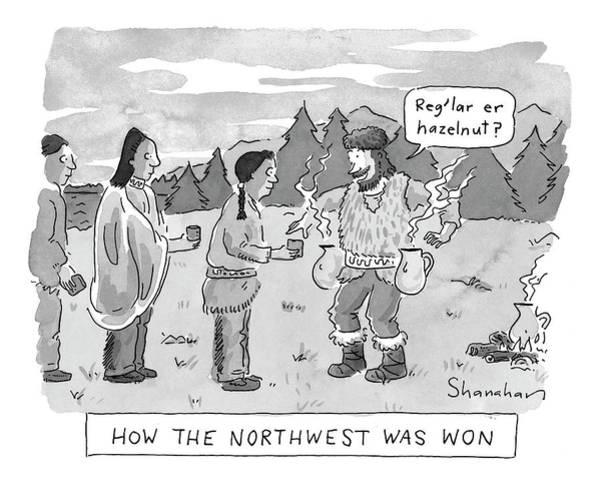 How The Northwest Was Won Art Print