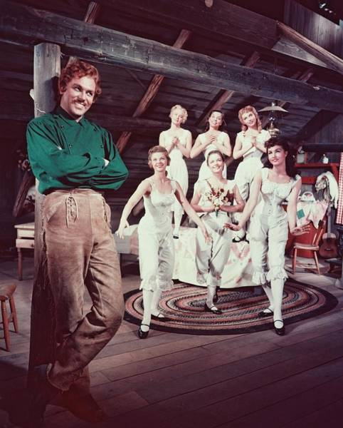 Seven Photograph - Howard Keel In Seven Brides For Seven Brothers  by Silver Screen