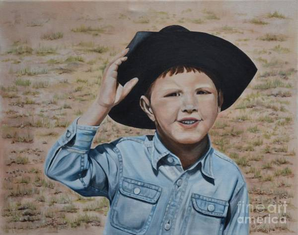 Mary Rogers Painting - Howdy Ma'am by Mary Rogers