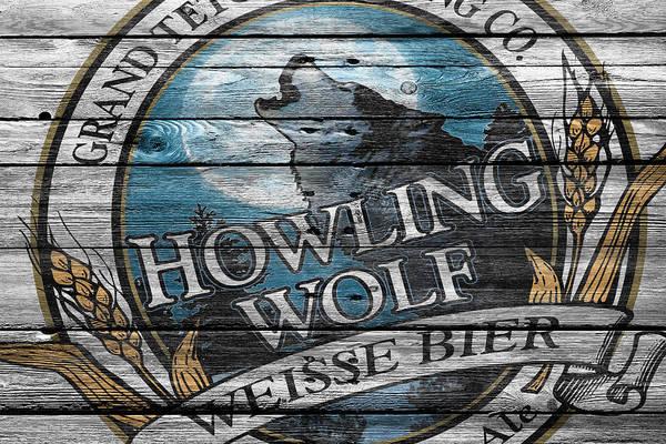 Six Wall Art - Photograph - Howling Wolf by Joe Hamilton