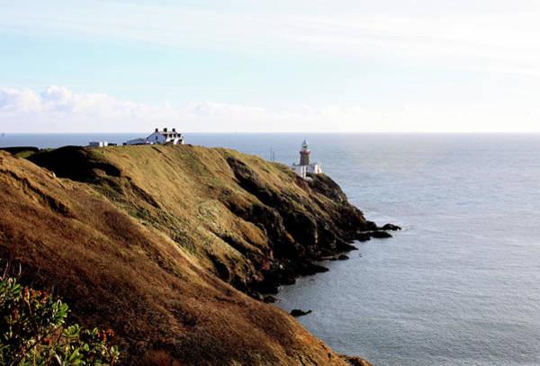 County Dublin Photograph - Howth Head & Lighthouse by Oonat