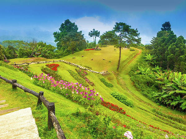 Chiang Mai Province Photograph - Huai Nam Dung National Park,chiang-mai by Naphakm